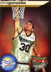 Chris Gonzales Basketball Card